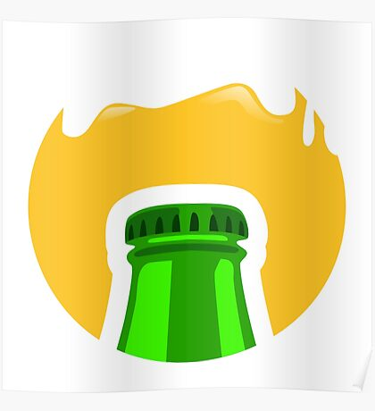 Beer Cap Poster