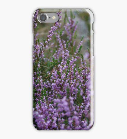 Purple Heather iPhone Case/Skin