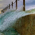 Concrete and water by angusimages