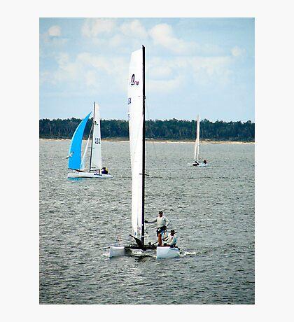 Sail boats Photographic Print