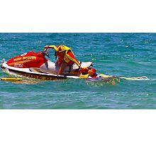 Training to Save Lives - Life Saving Australia Photographic Print