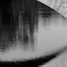 Impression of a river scene by Elizabeth McPhee
