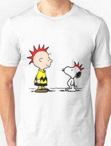 Snoopy & Charlie Brown Punk T-Shirt