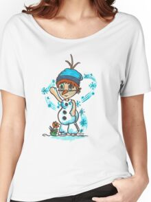 Cosplay Kids - Olaf Women's Relaxed Fit T-Shirt