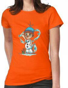 Cosplay Kids - Olaf Womens Fitted T-Shirt
