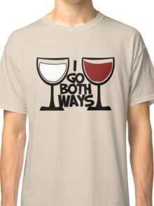 Red wine and white wine drinker Classic T-Shirt