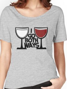 Red wine and white wine drinker Women's Relaxed Fit T-Shirt