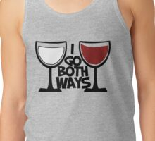 Red wine and white wine drinker Tank Top