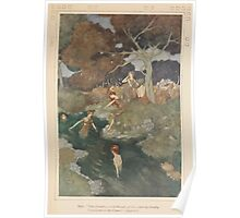 Shakespeare's Comedy of The Tempest - Art by Edmund Dulac - 1915 - 0137 - Iris - You Nymphs called Naiads Poster