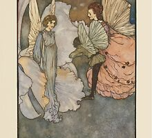 Fairies I Have Met - Rudolph Stawell - Art by Edmund Dulac - 1910 - 0045 - She Smiled at Home Very Graciously When he was Introduced to Her by wetdryvac