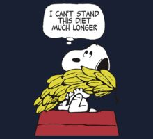 Hungry Snoopy Peanuts Kids Clothes