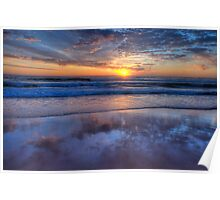 Reflections of Morn - Newport Beach,Sydney - The HDR Experience Poster