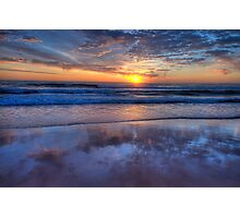Reflections of Morn - Newport Beach,Sydney - The HDR Experience Photographic Print