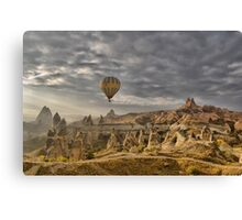 Hot Air Ballooning in Capadocia, Turkey Canvas Print