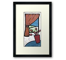 Room with a View II Framed Print