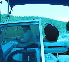 Boating in the tinny on the Hawkesbury by susanmcleod769
