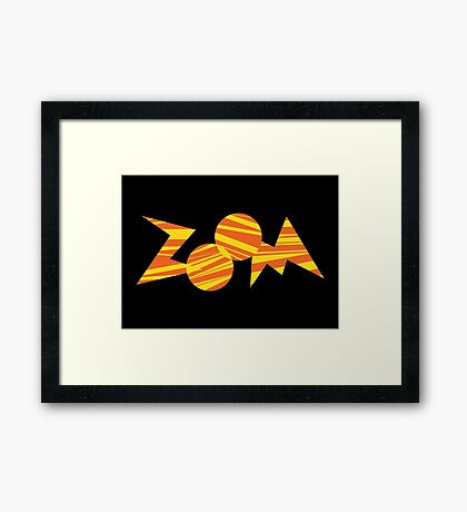 Zoom PBS TV Show Framed Print