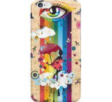 Colorful Surreal Fairy2 iPhone Case/Skin