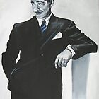 Clark Gable  by EDee