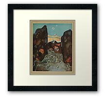 The Dreamer of Dreams - Carmen Sylva - Art by Edmund Dulac - 1900 - 0129 - The Miraculous Bubbles Framed Print