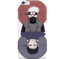obito and kakashi iPhone Case/Skin