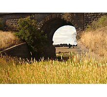 Railway Bridge,Geelong Outskirts Photographic Print