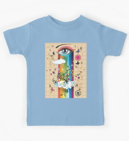 Surreal Eye2 Kids Tee