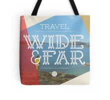 Travel Wide & Far Tote Bag