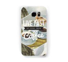 Live Fast Samsung Galaxy Case/Skin
