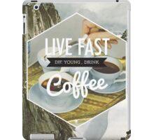 Live Fast iPad Case/Skin