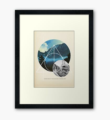 Echoes Reality Framed Print
