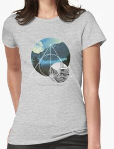 Echoes Reality Womens Fitted T-Shirt