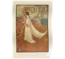 Fairies I Have Met - Rudolph Stawell - Art by Edmund Dulac - 1910 - 0083 - Of Course the Dear Princess Wore the Great Opal Poster