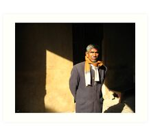 Man of India Art Print
