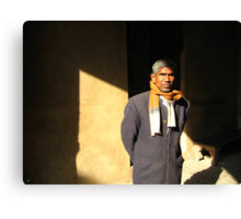 Man of India Canvas Print
