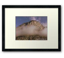 Austria~ Alps Framed Print