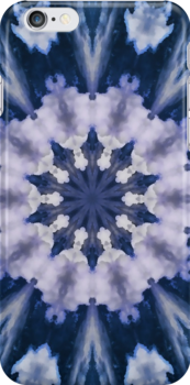 Southwest Clouds Mandala 3 by bloomingvine