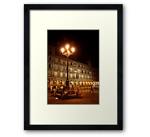 Plaza Mayor Framed Print