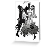 Zombie Wedding Greeting Card