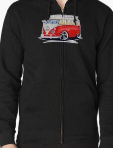 VW Splitty (15 Window) Camper (A) T-Shirt