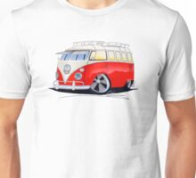 VW Splitty (15 Window) Camper (A) Unisex T-Shirt