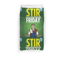 Stir Friday Duvet Cover