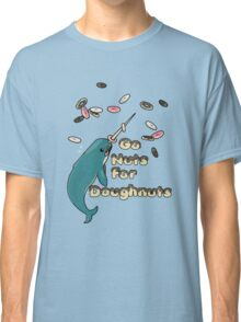 Go Nuts For Doughnuts Classic T-Shirt