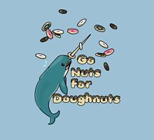 Go Nuts For Doughnuts Womens Fitted T-Shirt