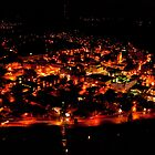 Johnstown, PA at Night by Eric G Brown