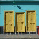 What's behind the yellow door? by ardwork