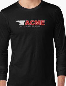 Acme Anvil Corporation Funny T-Shirt Long Sleeve T-Shirt