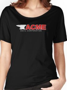Acme Anvil Corporation Funny T-Shirt Women's Relaxed Fit T-Shirt