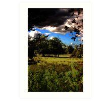 Landscape Field Art Print