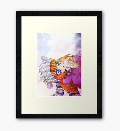 Winter Ada Framed Print